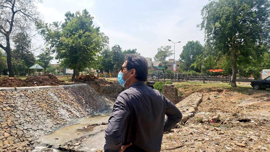 PM visited the Sewerage Plant I-9 and Korang Cricket Ground in the federal capital.