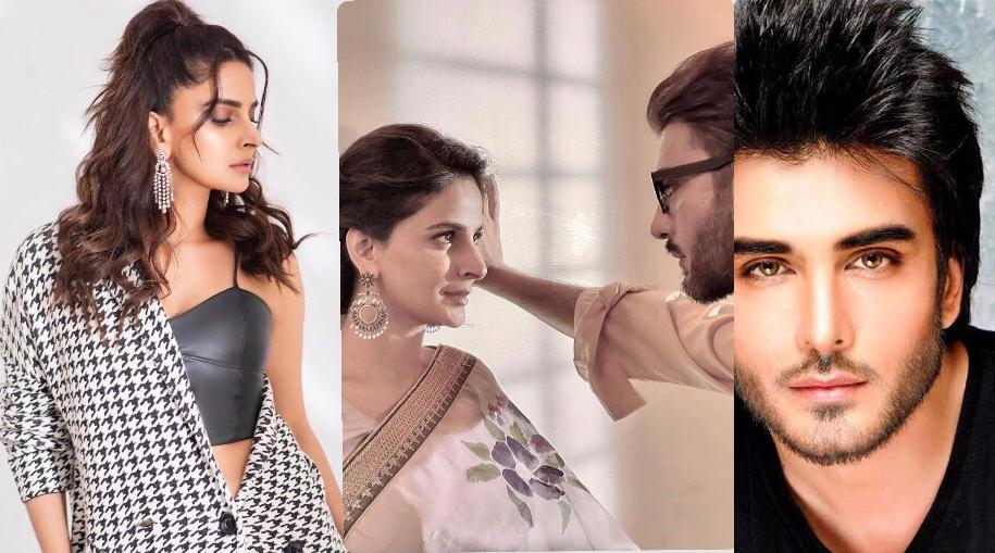 First look revealed of 'Tere Husn Ke Naam' featuring Saba Qamar and Imran  Abbas - The Current