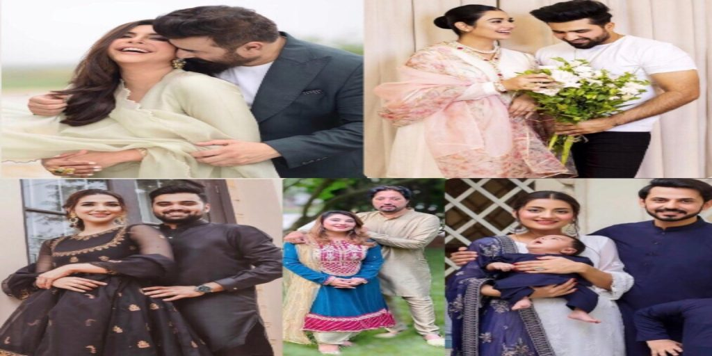 Ten Celebrity couples express their love for each other this Eid