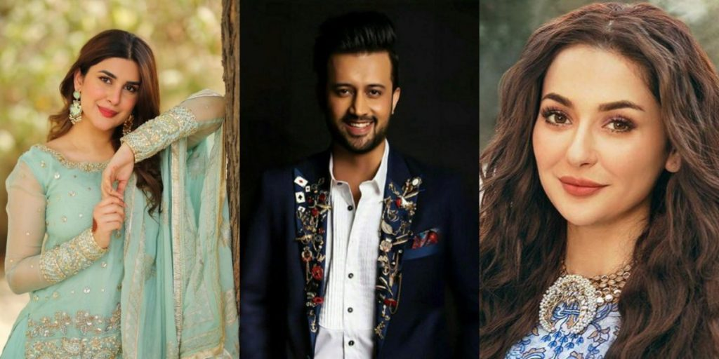 Atif, Hania and Kubra start shooting for 'Sang-e-Mah' in Islamabad - The  Current