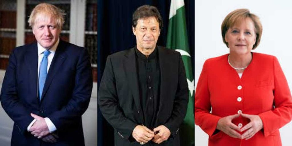 PM Khan discusses Afghanistan with UK and Germany