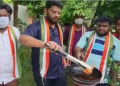 Indian Congress workers fry 'Twitter bird', send to headquarters to protest blocking of Rahul Gandhi's Twitter account