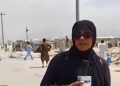 Pakistani female reporter updates live from Afghanistan