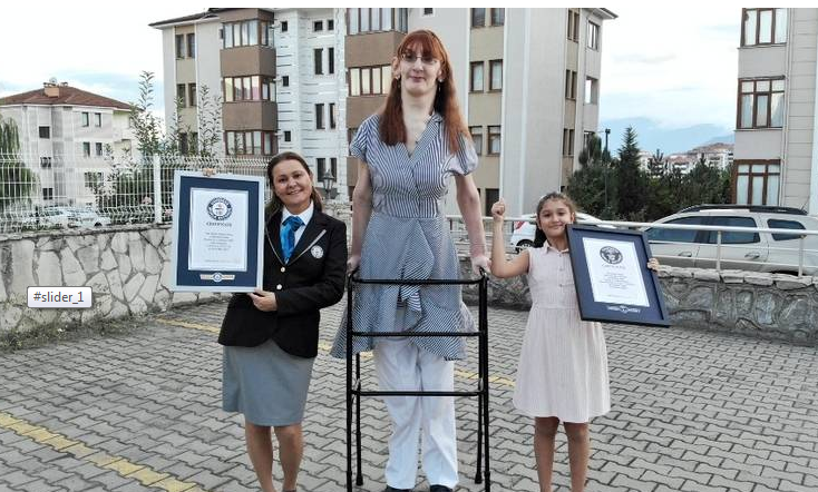 Video: 24-year-old declared world's tallest woman alive